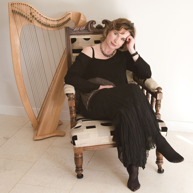 Maggie MacInnes — Gaelic singer and Clarsach player