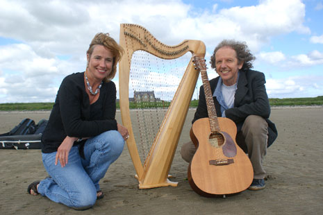 Maggie MacInnes and Colum Sands